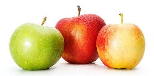 Consumir manzana